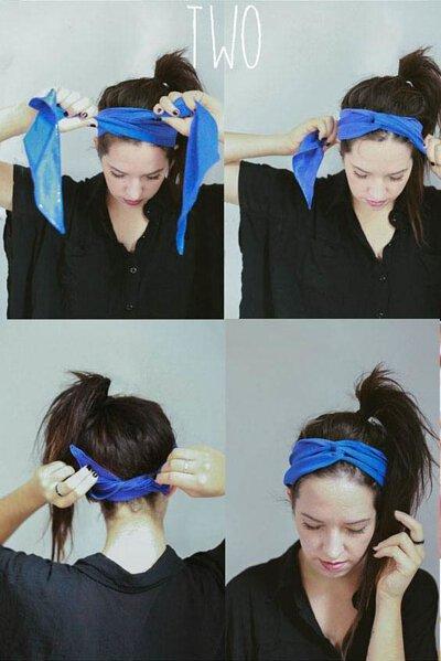 髮帶穿搭造型 髮帶變化怎麼綁