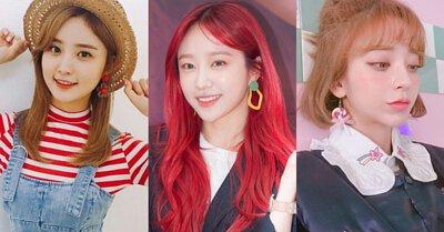 俏皮可愛韓國日本垂墜貼布耳環耳夾
