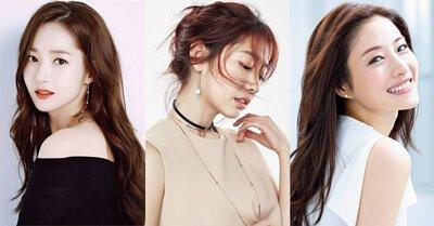 韓國珍珠明星耳環耳夾搭配垂墜貼耳