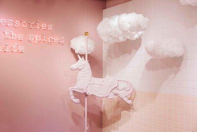 雲朵網美拍照景點國華邱家小捲米粉附近推薦飾品 Bonny&read飾品 台南國華門市