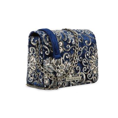 FEDE,Fedeboutique,聖誕禮物,小方包,絨布方包,鍊條方包,復古刺繡方包,