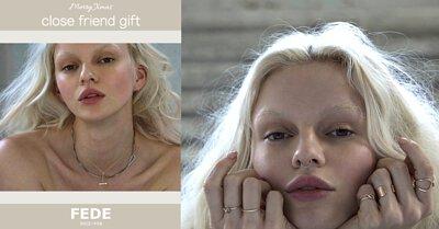 FEDE,Fedeboutique,閨蜜好禮,聖誕好禮,女生最愛聖誕禮物,飾品,項鍊,戒指