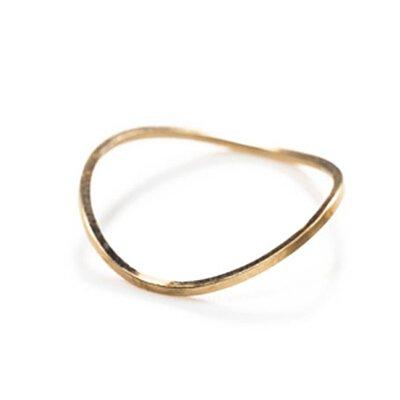 FEDE,Fedeboutique,by boe,項鍊,飾品,弧形戒指,by boe 極簡圓弧戒指,