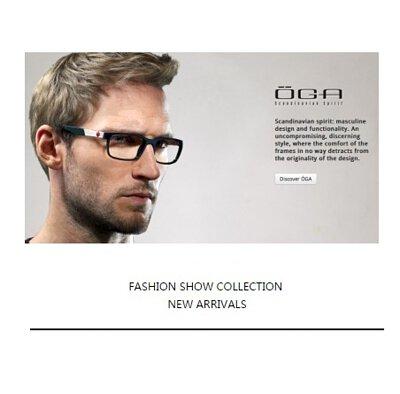 極簡低調剛性來自法國的OGA眼鏡