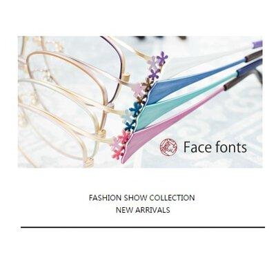 日本手工眼鏡品牌「 Face Fonts 」 是由福井線鯖江市GRAN 設計