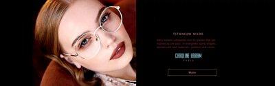 CAROLINE ABRAM 卡羅琳眼鏡金屬細框的優雅迷人之處!