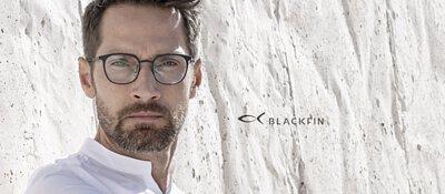 義大利薄鈦Blackfin眼鏡 簡約優雅玩色的黑鯊魚