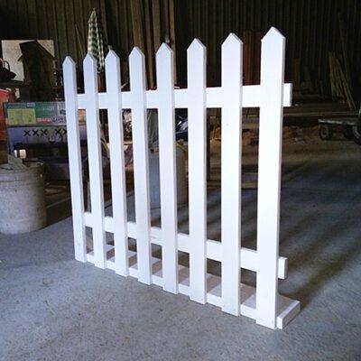 防腐直立木柵欄厚板籬笆