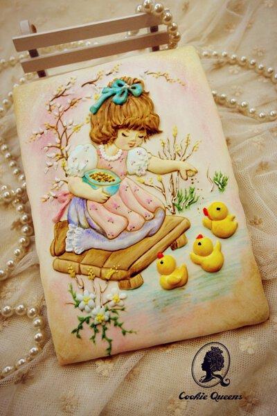 餅乾皇后正版三麗鷗授權收涎餅乾