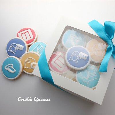 #客製 #糖霜餅乾 #Logo餅乾