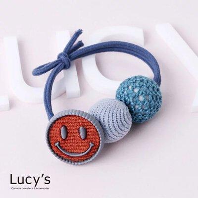 溫暖針織微笑 彈性髮圈 (五色)