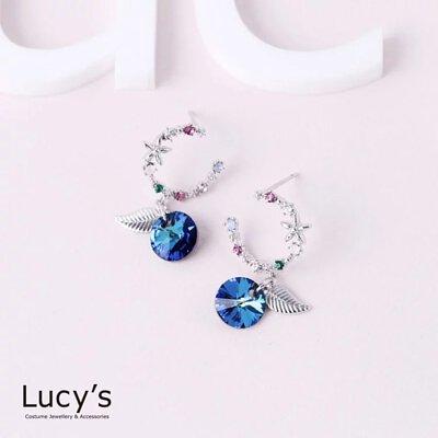 優雅之藍 耳環