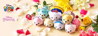 MsDreaming DisneyStoreJP 日本迪士尼 日本DisneyStore UniBear 10th Princess 系列