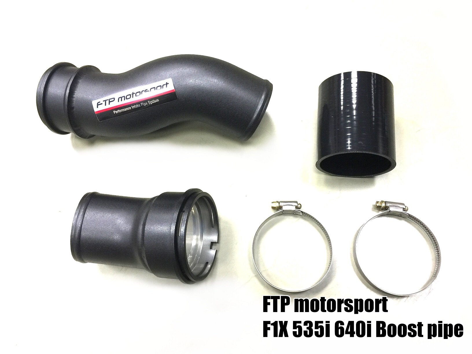 For BMW N55 535i 640i F10 F12 F13 Charge Pipe Boost Pipe Cooling Kit