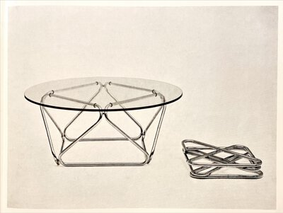 Triangular Table / Andreas Hansen