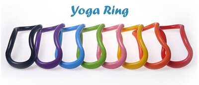 Use your yoga ring for massage and stretching. Perfect to stretch your back, shoulder, lower back and hamstring.