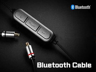 Bluetooth and wireless earphone cables