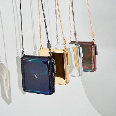 joseph&stacy,百褶包,百折包,手工,韓國,韓星,真皮,woc,可背式皮夾,