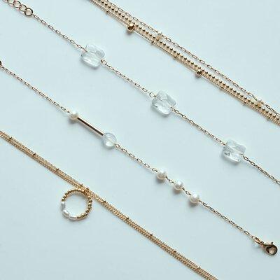 beq pettina,綁髮手環,手環,髮圈,髮型,水晶,珍珠,配件,耳環,項鍊,