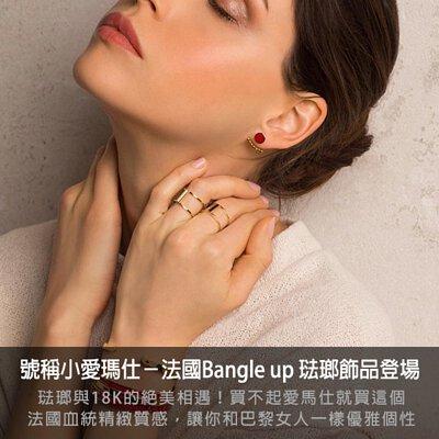 bangle up ,小愛瑪仕,手環,法國,手工琺瑯,飾品,耳環