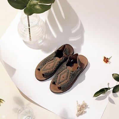 chubasco,BTS,V金泰亨,編織鞋,手工編織鞋,韓國編織鞋,涼鞋,手工涼鞋