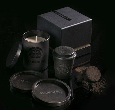 Starbucks | Coffee Grounds Handmade Soap, Coaster & Candle