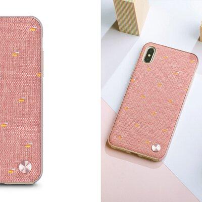 Moshi iPhone Vesta 風尚布質感保護背殼