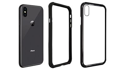 SwitchEasy iPhone 全新iGlass TPU邊框+鋁框9H玻璃背蓋保護殼