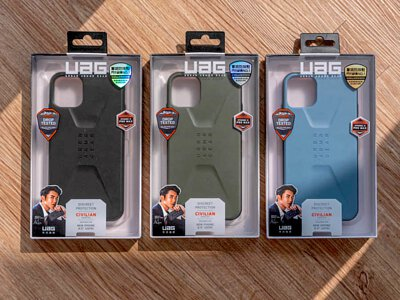 【開箱】UAG IPHONE 11 / PRO / PRO MAX CIVILIAN 耐衝擊簡約保護殼