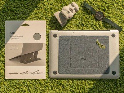【開箱】美國 MOFT – 世界第一款輕薄隱形筆電支架