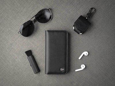 【開箱】MOSHI ・OVERTURE 磁吸可拆式卡夾型皮套保護殼 100% 安全無毒之簡約奢華設計