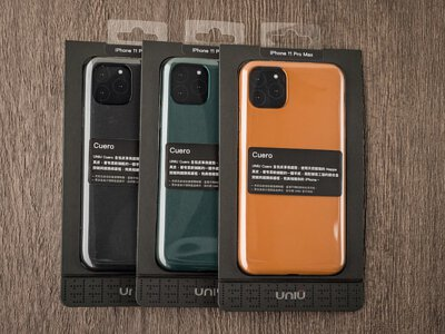 【開箱】UNIU CUERO 360°全包覆皮革 IPHONE 手機保護殼