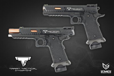 EMG Taran Tactical Innovations™ 2011 Combat Master Gas Blow Back Pistol.TT-CM0100.