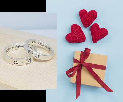 純銀戒指,為您量身訂做,刻上有意義的文字或符號讓您的戒指獨一無二