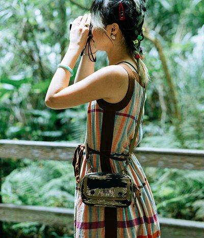 露營 野餐 軍規  迷彩  旅行 多地形迷彩 用餐 餐墊 molle 多用途模組袋 隨身小包