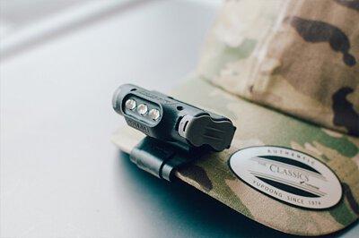 UL10 MOLLE 帽簷燈    LED 燈 野營 戰術