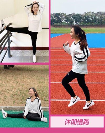 紗比優超彈力無縫壓縮機能長褲適合運動跑步休閒時穿著