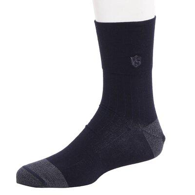 銀盾寬口機能除臭休閒襪