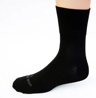 銀盾活勁能寬口休閒襪
