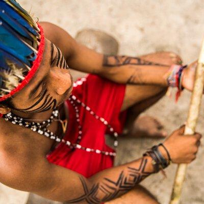 南美洲原住民族暫時刺青