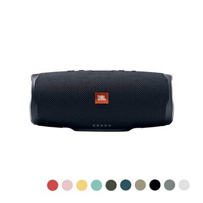 JBL Charge 4 防水攜帶式藍牙喇叭 戶外藍牙音響-(黑/藍/綠/白/粉紅/黃/紅/沙黃/灰/青綠)