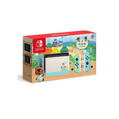 Switch 主機 動物森友會限定版 新型電力加強版 任天堂 Nintendo 台灣公司貨