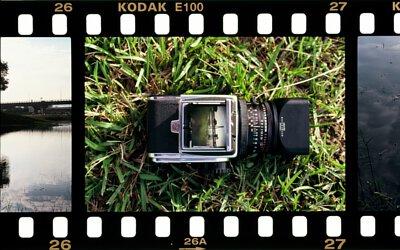 正片沖洗,Kodak E100,E6,復刻底片