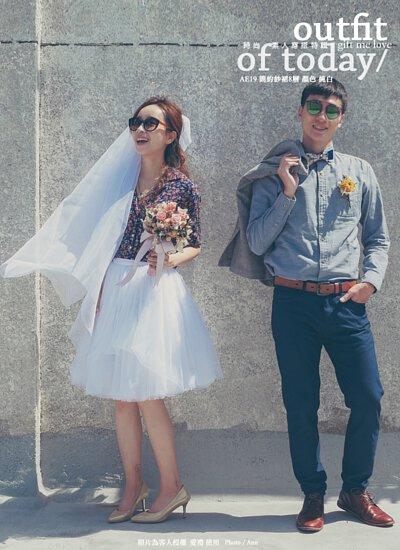 輕婚紗 自助婚紗 白色澎澎紗裙 / Wedding White Tulle Skirt / gift me love 愛禮訂製時裝店 - 接受訂做任何尺寸