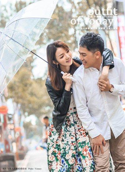 輕婚紗 自助婚紗拍攝 花樣大圓裙 Wedding floral midi skirt  / gift me love 愛禮訂製時裝店 - 接受訂做任何尺寸