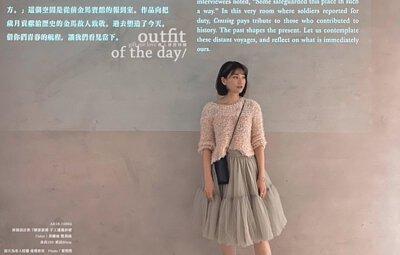 莫蘭迪 凱莉綠 - 拼接設計款 7層澎澎裙 手工蓬蓬紗裙(AE16-10694)淡雅恬靜低飽和度莫蘭迪色 其實從2018前就開始慢慢受到注目,直到2021年依舊不敗 灰色階的色彩 依然可保有溫暖度;及膝的7層拼接紗裙,凱莉綠(淺橄欖綠)的配色