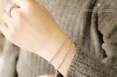 相守的美麗純銀手鍊