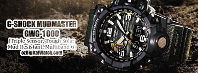 gshock mudmaster watch