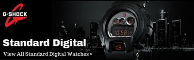 casio gshock analog standard digital watch