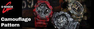 casio gshock analog digital camouflage watch